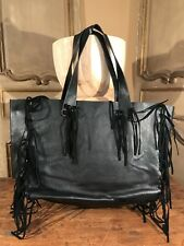 New Urban Outfitters Fringe Tote Shoulder Womens Bag Soft Vegan leather
