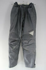 "HEIN GERICKE STREETLINE LEATHER BIKER TROUSERS/ARMOUR: WAIST 28""/INSIDE LEG 30"""
