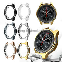 Samsung Gear S3 Frontier Watch Case TPU Protective Cover Bumper 2pcs