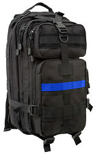 Medium Transport Pack Police Thin Blue Line Tactical Backpack Rothco 2595