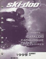 1999 Ski-Doo Snowmobile Summit 600 Parts & Accessories Manual (267)