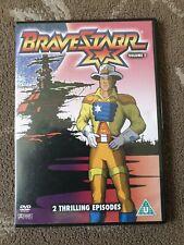 BRAVESTARR VOLUME 1 DVD RETRO KIDS CARTOON 2 EPISODES