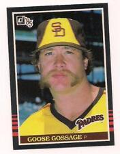 1985 Donruss HOF Goose Gossage San Diego Padres  #185