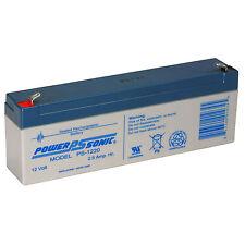 Power-Sonic PS-1220 Sealed Lead Acid Battery 12V 2.5Ah