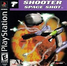 SHOOTER SPACE SHOT - PS1, New Video Games