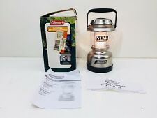 USED in BOX!! Coleman Floating Krypton Lantern - Silver Metallic Finish - FLOATS