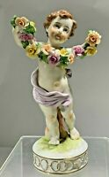 Antique 1759 Ludwigsburger Elegant Hand Painted Porcelain Figurine Germany