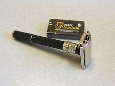 1977 Gillette Super 109 Adjustable Black Beauty Safety Razor