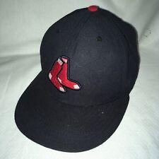 Boston Red Sox Blue Alternate Socks Logo Hat Cap New Era 5950 Fitted 7 1/8