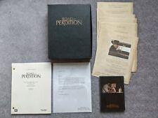 Road To Perdition Press Kit Script Screenplay Promo DVD Presskit FYC Screener