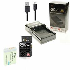 Nb-12l Dual Lcd Cargador De Batería Alta Baja modos para Canon Powershot G1 X Mark Ii