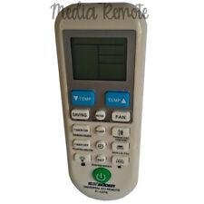 Air Conditioner Remote Control Universal for Hitachi Panasonic Galanz Toshiba