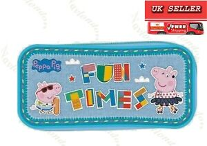 Peppa Pig Premium Pencil Case Kids School Stationery Case Gift Back To School
