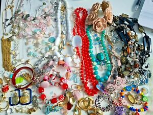 Jewellery bundle spares or repairs, vintage/modern varying condition over 1kg