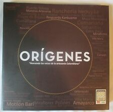 ORIGENES: HONORING THE ROOTS OF COLOMBIAN HANDICRAFTS HC BOOK EN ESPANOL SPANISH