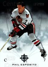2010-11 UD Ultimate Collection #13 Phil Esposito