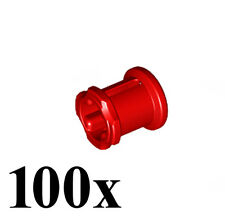 LEGO NEW Technic 100pcs RED BUSH Bushing 1/2 Axle Connector Mindstorm Part Piece