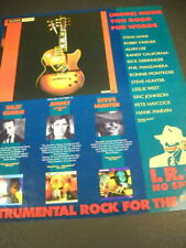 IRS 1988 Promo Ad BILLY CURRIE Jimmy Z STEVE HUNTER Eric Johnson Alvin Lee more