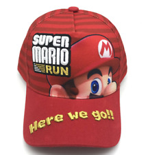 Game Suer Mario Run Baseball Hat Cap Fashion Men Women Hip Hop Sunhat Snapback
