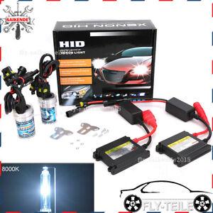 2x Kit Xénon HID H7 8000K + Slim Ballast Feux Phare Auto 12V 35W Anti Erreur OBD