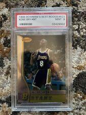 1996 Bowmans BEST KOBE BRYANT ROOKIE RC #R23 PSA 9 Mint HOF Lakers Slabbed!