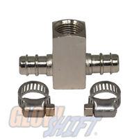 Crush 1//8-27 NPT Female to 1//8 28 BSPT BSP Male Gauge Sensor Sender  Adapter