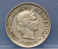 Zwitserland - Switzerland  5 Rappen 1950 KM# 26