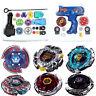 4D Beyblade Fusion Top Metal Master Battle Launcher Grip Set Kids Toys Xmas Gift
