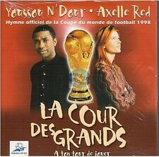 AXELLE RED la cour des grands CD SINGLE card sleeve NEUF youssu n'dour world cup