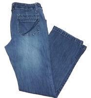 Sonoma Womens Jeans Size 10 Boot Cut Blue Mid Rise Denim Pants