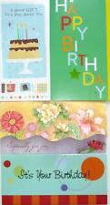 BIRTHDAY Money / Check / Gift Enclosure CARD RPG / Marian Heath CLASSIC & BRIGHT