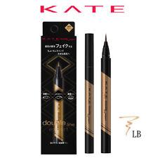 [KANEBO KATE] Double Line Expert Remake Shadow Liquid Eyeliner LIGHT BROWN LB-1