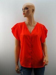 Damen Damenbluse Bluse NEU Saint Tropez Rot Größe 38 M