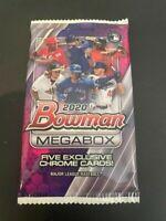 2020 BOWMAN Mega Box Chrome Mojo 5 Card Pack Factory Sealed - Dominguez - 1 PACK