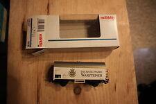 HO scale Marklin Box car # 4417 NIB Mint Das Einzig Wahre Warsteiner