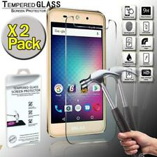 2 Pack Tempered Glass Screen Protector Cover For BLU Grand XL LTE