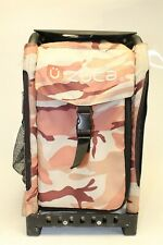 ZUCA Abstract Camo Frame 29 L Telescopic Handle Rolling Ice Skating Sport Bag