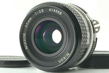 【MINT】 Nikon Ai Nikkor 35mm f/2.8 Wide Angle MF Lens + Cap From Japan 789