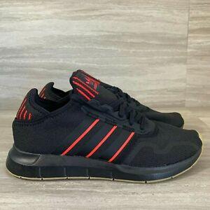 Adidas Originals Swift Run X Black Scarlet Core Black Men's SZ 10.5 FY6234
