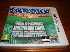 SUDOKU ** NEW & SEALED **  Nintendo 3Ds Game