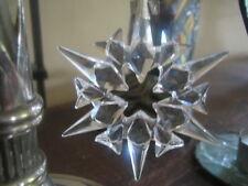 Swarovski Sammlung Weihnachtsstern Ornament 2007