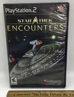Star Trek Encounters - Sony Playstation 2 PS2 Video Game 100% COMPLETE FREE S/H