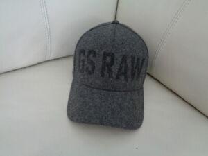 New G-Star Raw Originals Baseball Cap Grey Obaruh Wool D15605-A637-2864