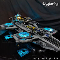 Kyglaring LED Light for LEGO 76042 Super Heroes Shield Helicarrier Beleuchtungs