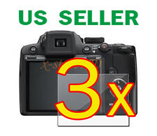 3x Nikon Coolpix P500 Clear LCD Screen Protector Guard Cover Film