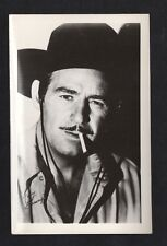 Roy Barcroft 1940's 1950's Actor's Penny Arcade Photo Card