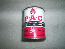 Vintage BA British American Oil Co.P.A.C Tin 4 ounce can ( B.A B/A B-A PAC )