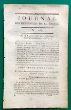 Bastia Corse Insurgée 1796 Dublin Gentili Nuremberg Kell Desaix Bernadotte Irish