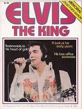 Elvis The King Magazine Memorial Collector's Edition Elvis Aron Presley 1935-77