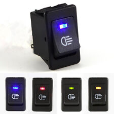 4-Pins LED On/Off Indicator Rocker Toggle Switch Driving Fog Lamp/Work Light GS